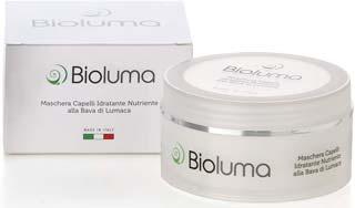bioluma maschera capelli idratante