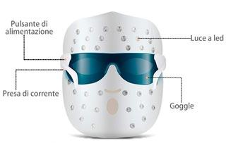 maschera-led-visoreakoo-fototerapia