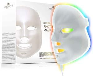 migliore maschera led viso project beauty