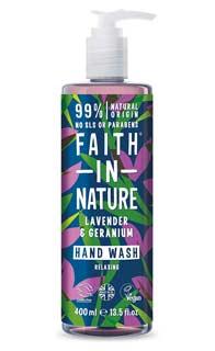 faith nature sapone naturale liquido